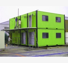 Cheap Prefabricated Container Hotel 40ft high shipping for portable cabin
