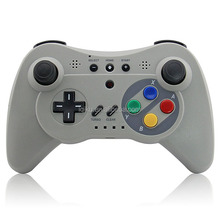 Assorted Colors Classic Bluetooth Wireless Gamepad Controller Joystick For Wii U Pro Game Controller