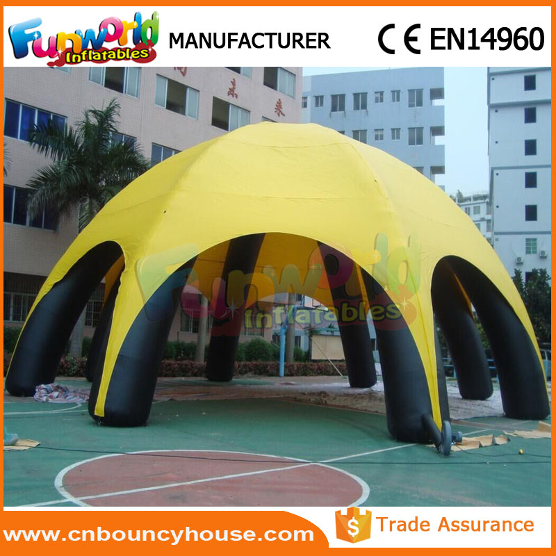 Large inflatable outdoor activity tent inflatable beach tent