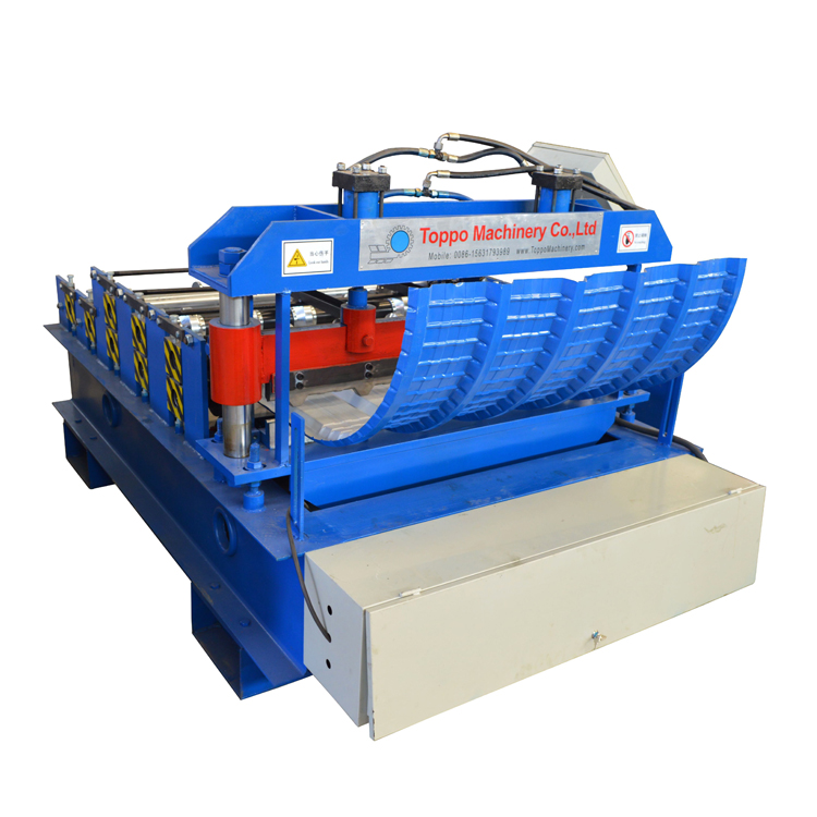 Metal Arch Roofing Sheet Curving Roll Forming <strong>Machine</strong> for Sale