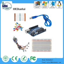 Uno R3 starter kit for arduino UNO R3 Compatible Starter Kit,UNO R3 can be sold alone. Kits can be customized for you