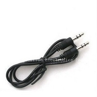 High quality DC 3.5 to DC3.5 stereo audio retractable cable