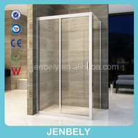 304 stainless steel modern simple shower screen with CE certificate SS016
