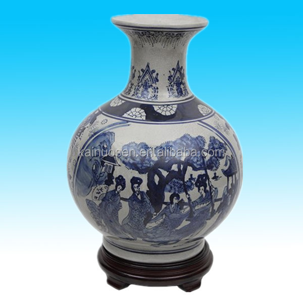 porcelain flower antique chinese ceramic vase for sale