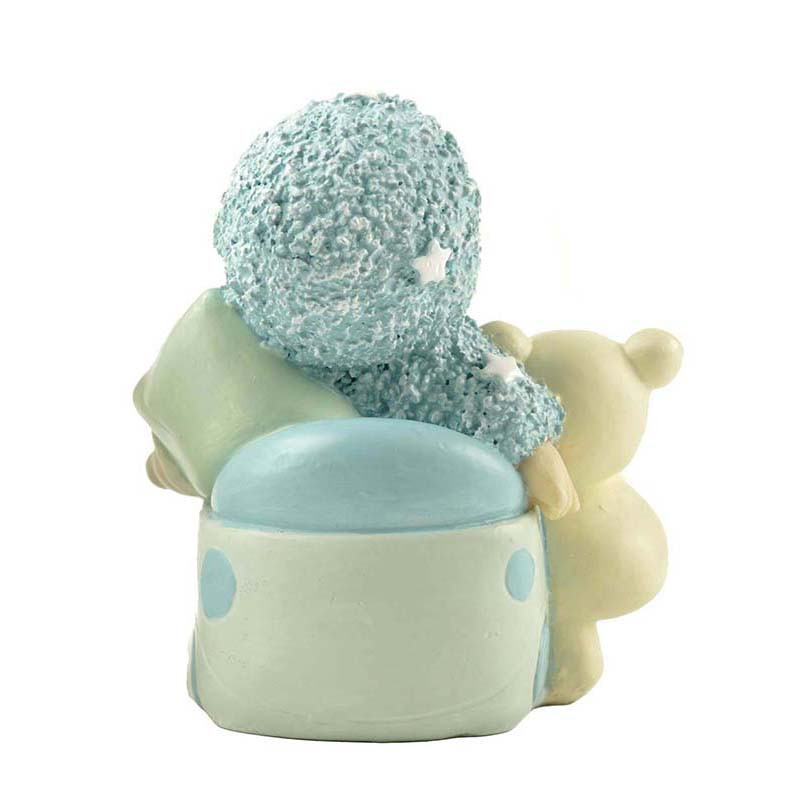 Resin unique baby shower figurines gifts for baby boys