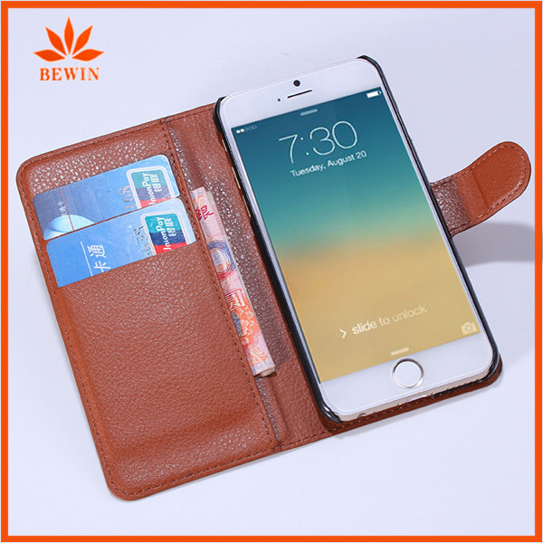 purse wallet leather case for iphone5 5g phone accessories