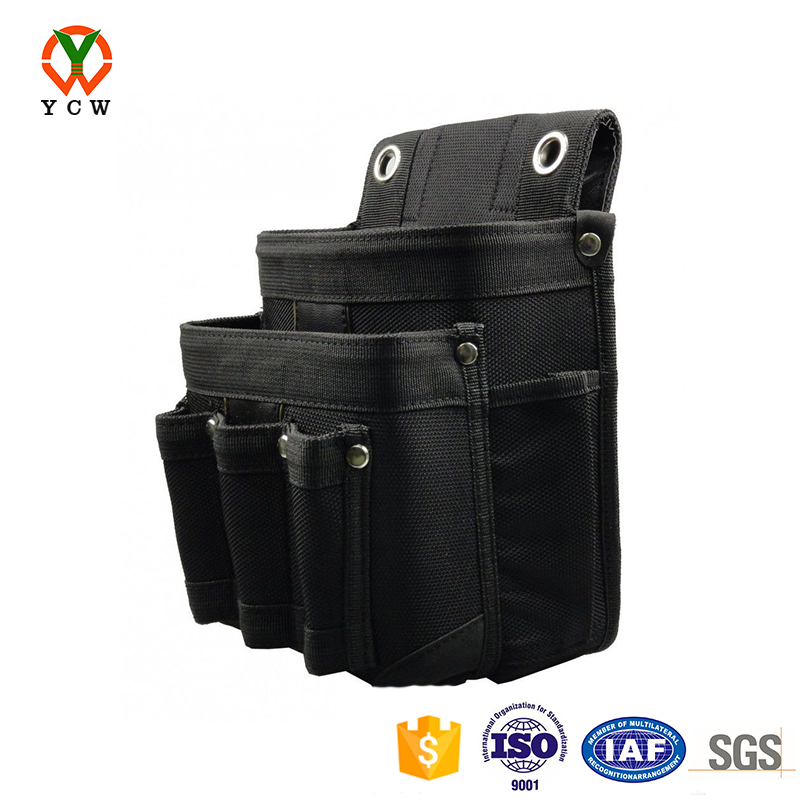Small maintenance and electrician pouch large capacity tool bag