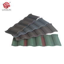Wholesale eco-friendly roman style color stone chip coated steel roof tile