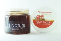 It's Nature - Anti-Aging Pomegranate Cinnamon Vanilla Active Hydrating Moisturizing Facial Mask for All Skin Types