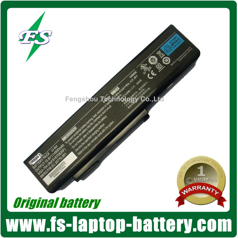 HOT New Genuine Original Laptop Battery SQU-704 SQU-705 Battery for BenQ JoyBook S41 S42 Battery