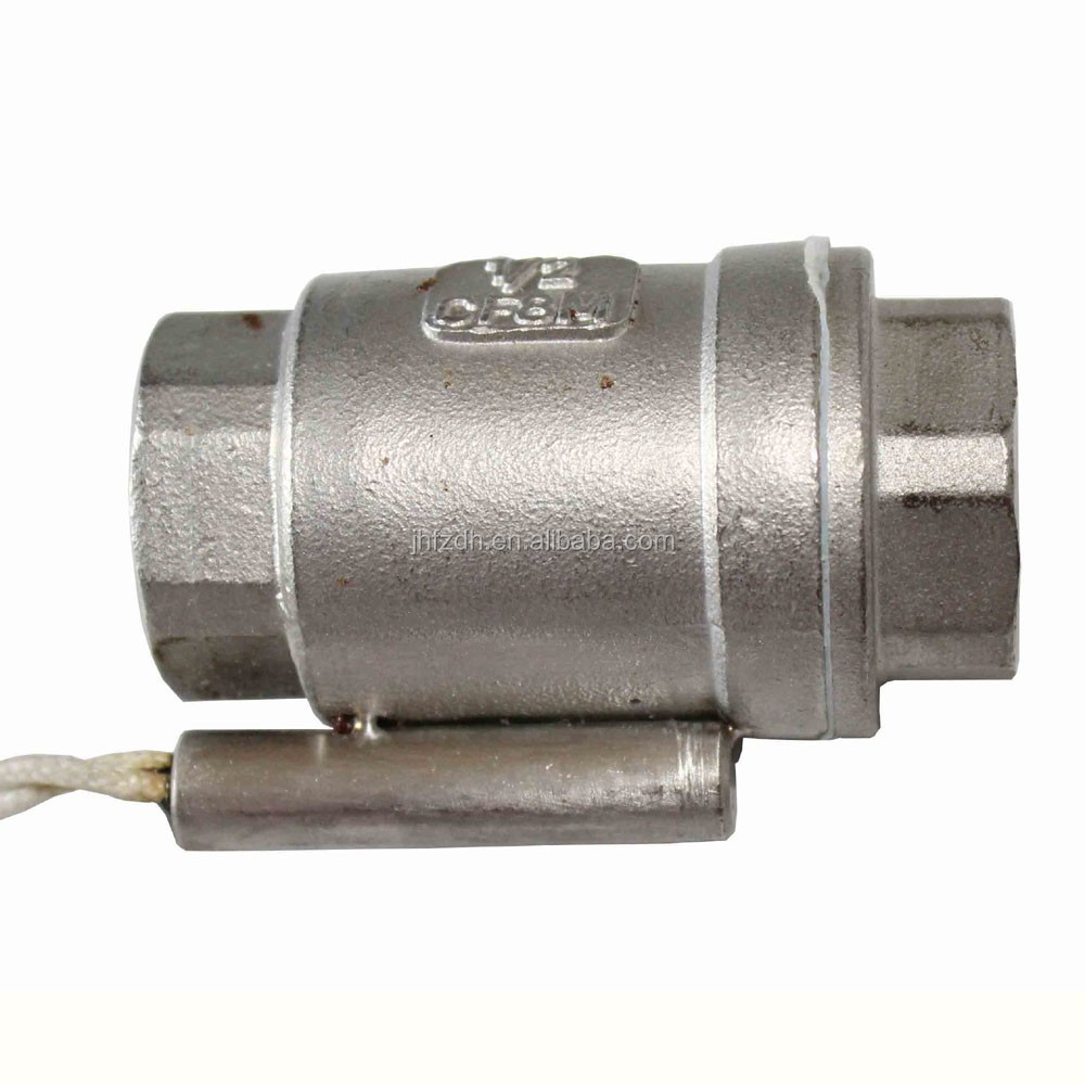 hot stainless high temperature stable water flow control switch