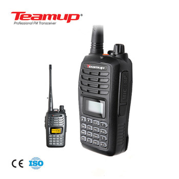Venda quente Walkie Talkie 5 W Handheld Teamup T550
