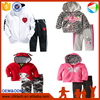 New 2016 winter children's clothing set kid clothes Cartoon Dog T-shirt hoodie coat + pants 2pcs suit baby cotton set