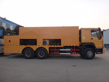 6x4 sinotruck synchronous surface dressing