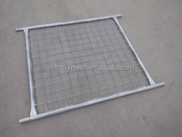 42 Micron Zinc Thickness Weled Wire MeshTemporary Fence for Sale (Australian standard fence)