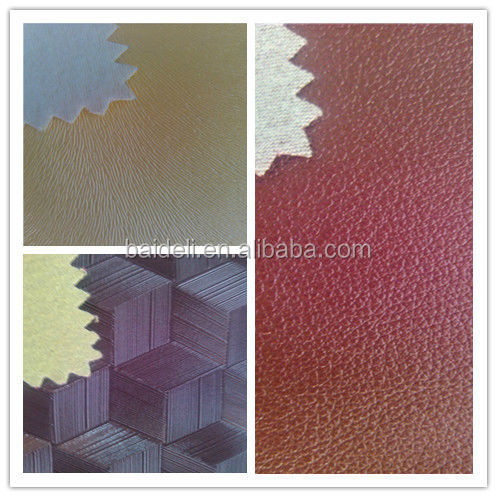 pvc pu leather stock lot