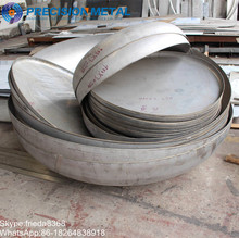 Stainless Steel End Cap elliptical Dish Head Tank Head for boiler head