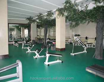 Gym PVC vinyl sports court flooring