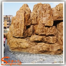 Made in china factory fountains design fiberglass water fountains for garden modern stone outdoor rockery fountains