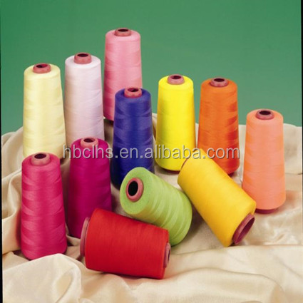 China wholesale buy polyester spun sewing thread color card