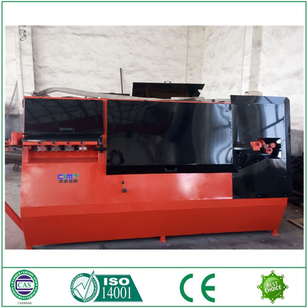 Sierra Leone buyer recommend reinforced steel wire rebar stirrup bender machine