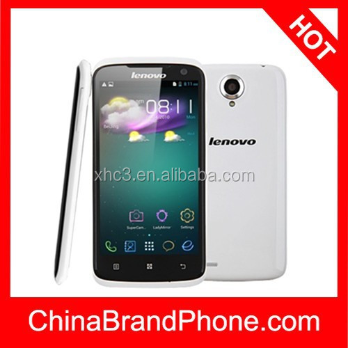Hot selling 4.7 inch Capacitive Screen Smart Phone, Original Lenovo S820 dual sim mobile phone