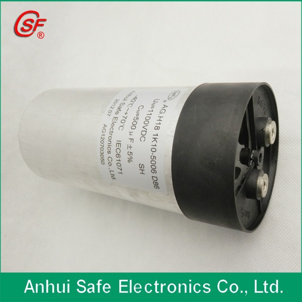 solar power capacitor helmet demi jet sh 20 use PP films SH on DC link with CE passed