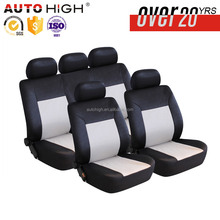 Polyester and embossed 9 pcs car seat covers racing seat water-proof pet car seat cover