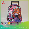 High wholesale trolley bag kids children travel trolley luggage bag