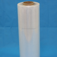 Top grade transparent clear LLDPE plastic film with glue