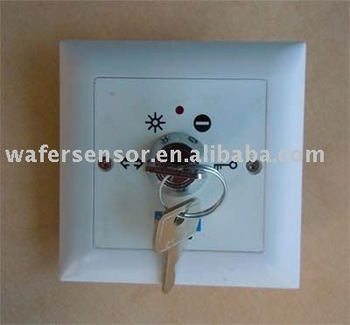 Lock switch for automatic door