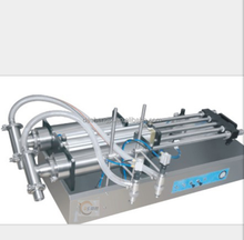 semi-automatic gear type small liquid / cooking oil / edible oil filling machine