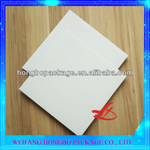 white waxed square cake boards cake pads