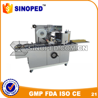 Tear tape type Cellophane Over wrapping Machine with bopp film