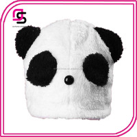 customize wholesale cute animal plush panda hat