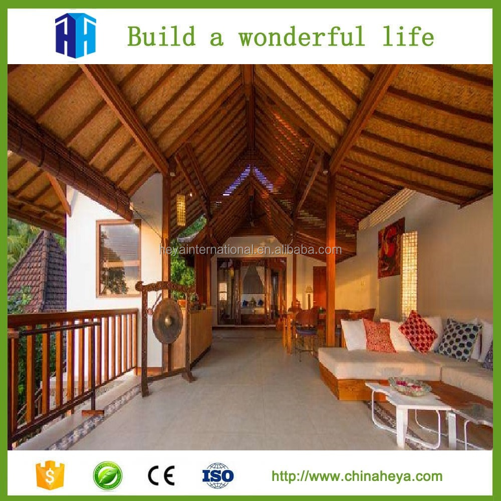 Superior quality Bali prefab beautiful wooden houses