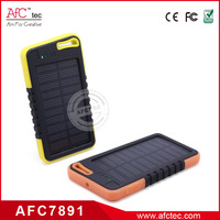 best quality abs comfortable 4000mAh solar external power bank for lenovo
