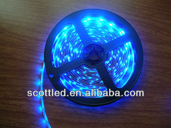 3528 mint strips;Blue Color;60leds/m;5m/reel;DC12V input;White PCB;non-waterproof IP20;led strip 3528