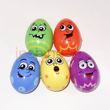 IN53559 Big easter eggs , 8cm plastic egg , plastic easter egg container