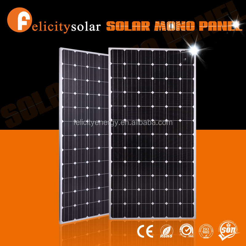 Felicitysolar high quality high efficiency best price 300w mono pv solar panel