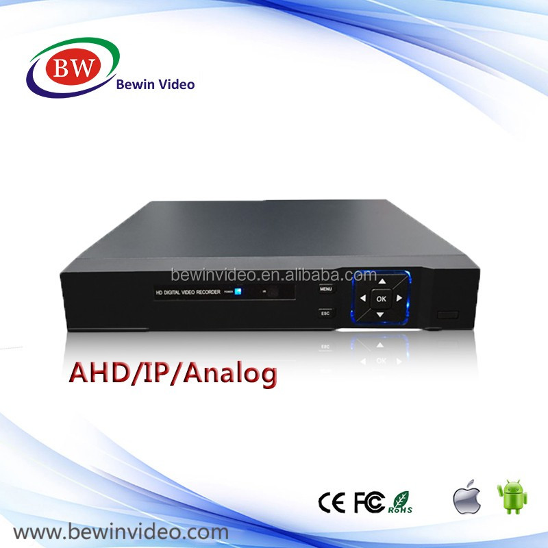 8CH Real Time 1080p AHD DVR For Hisilicon Chip auto switch digital video recorder