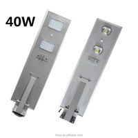 40W Solar Power Lighting For Street With solar panels