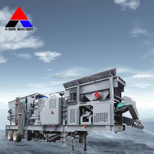 2015 hot selling portable mobile crusher, mobile crusher plant dingbo, portable granite crusher plant