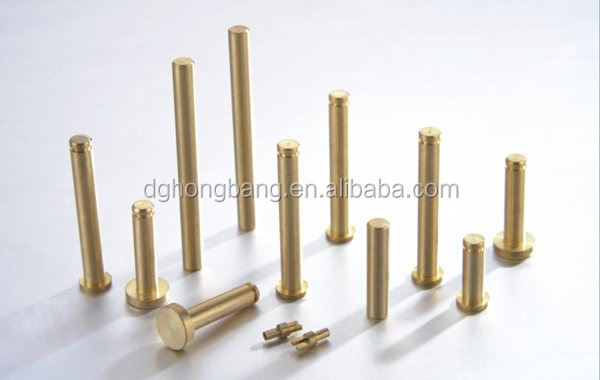 Automatic Lathe Precision Turning Custom Design Standard Lock Dowel