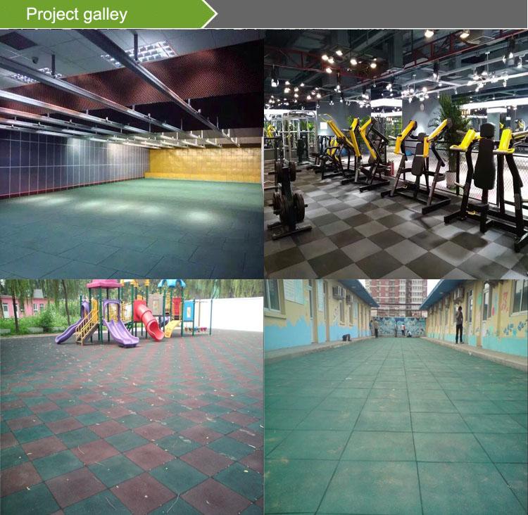 Sports court Gyms rubber floor mat rubber mats 2019 new design rubber flooring