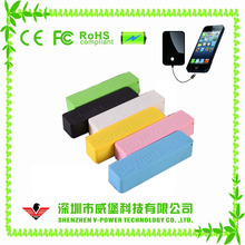 2017 new products wholesale perfume gift 2000mah rohs power bank