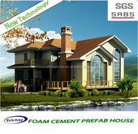 Customed sizes and styles modern prefab villas