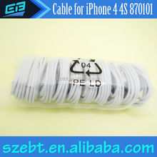 For Apple iPad iPod iPhone Cable USB Data Colorful Cable for iPhone 4 4S
