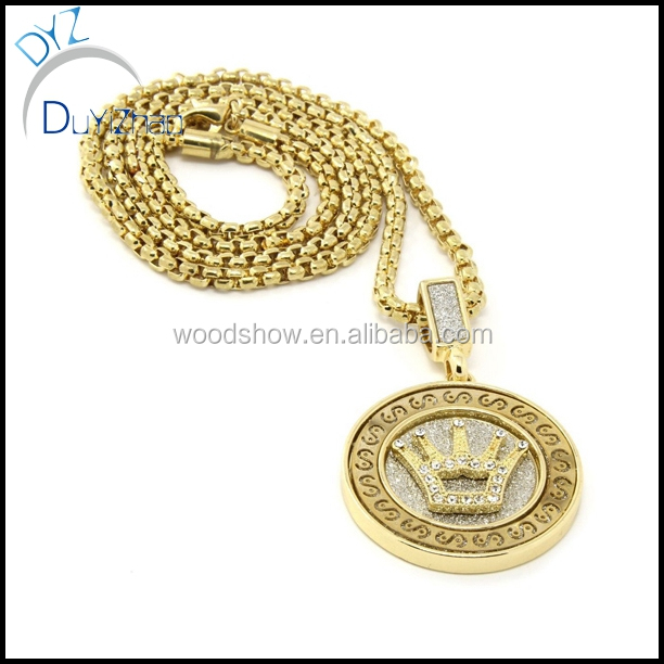 Fashion hip hop gold men pendants