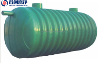 Flberglass septic tanks